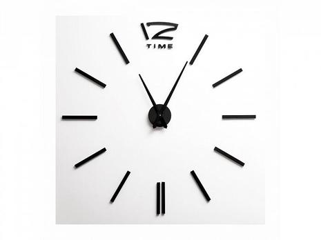 Часы самоклеящиеся 3D Time