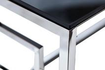 Столик стеклянный прямоугольный