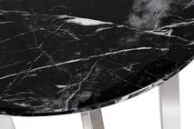 Столик журнальный черный (искусственный мрамор) 33FS-ET2029-BS
