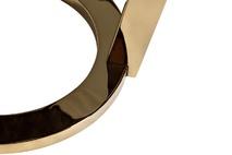 Столик журнальный коричневый (искусственный мрамор)