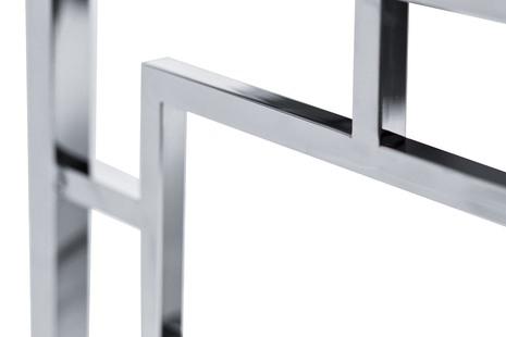 Консоль черное стекло/хром3