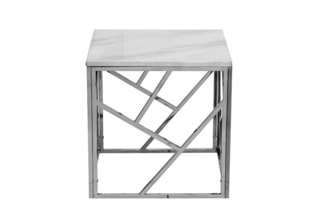 Столик квадратный из мрамора GY-ET2051214BLSM