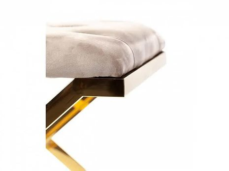 Банкетка-оттоманка Milan золото