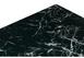 Стол на тумбе Иматра мрамор черный / черная шагрень11