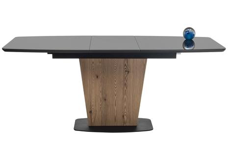 Стол на тумбе Теон графит / лиственница