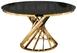 Стол Twist gold / black0