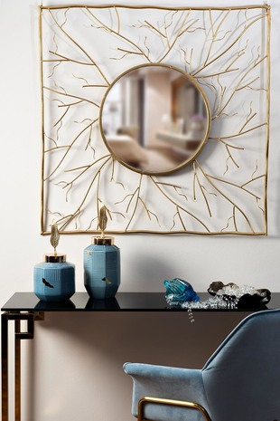 Зеркало декоративное квадратное 19-ОА-6139