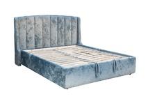 Кровать Odry с подъемным механизмом и бельевым ящиком бирюзовая ODRY2К-160M-Cru14